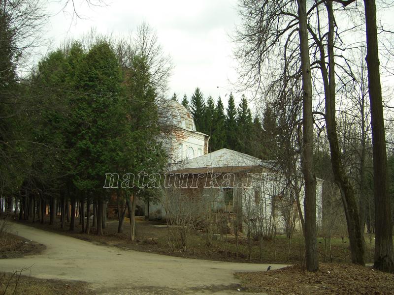 Усадьба Воздвиженское (Авангард), церковь