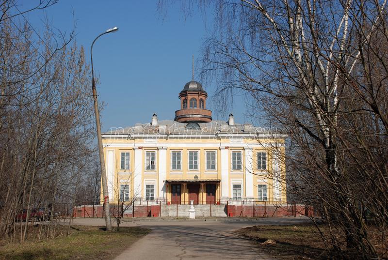 Усадебный дом в Кунцево до пожара 2014 г.