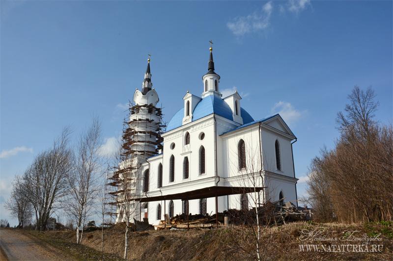 Церковь Михаила Архангела в Поджигородово