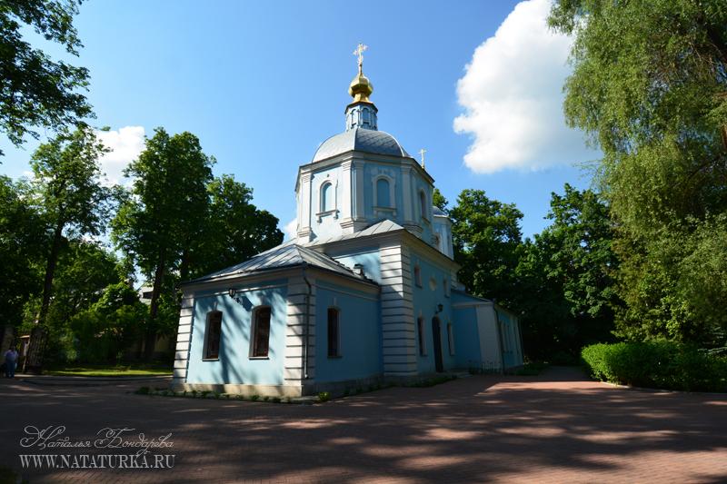 Церковь Рождества Христова в усадьбе Подушкино