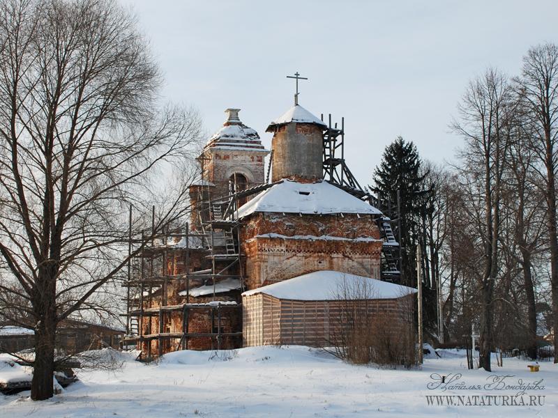 Преображенская церковь в Сивково