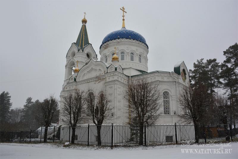 Пос. Троицкий, церковь Живоначальной Троицы