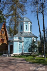 Усадьба Подушкино, часовня на церковной территории