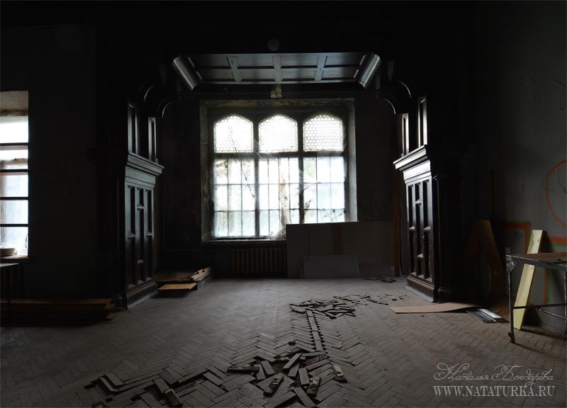 Усадьба Успенское, главный дом. Интерьер парадного зала