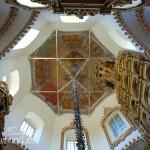 Церковь Покрова в Филях, подкупольное пространство