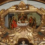 Церковь Покрова в Филях, фрагмент декора алтарных врат