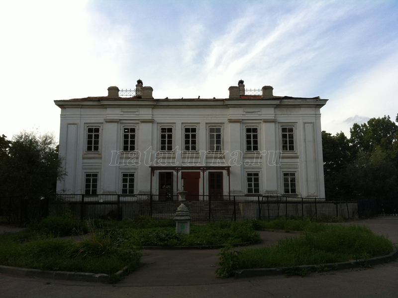 Усадебный дом в Кунцево после пожара 2014 г.