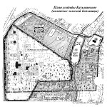 План усадьбы Кузьминское