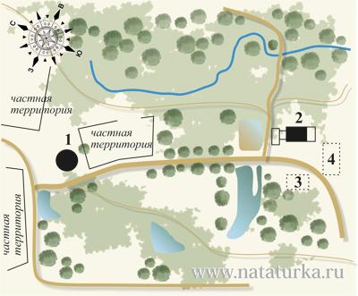 План усадьбы Подмоклово