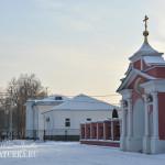 Пехра-Покровское. Церковь Покрова Пресвятой Богородицы, врата входа на территорию