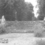 Усадьба Пехра-Яковлевское, буленгрин с парковой лестницей