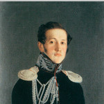 Портрет князя В.М. Шаховского. Ф.А. Тулов. Конец 1810-х - начало 1820-х гг.