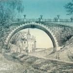 Усадьба Суханово. Мост через овраг.