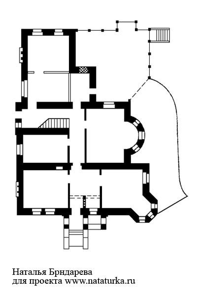 план главного дома