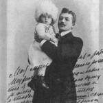 Владимир Петрович Смирнов с сыном Володей, 1902