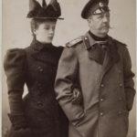 Граф Илларион Иванович Воронцов-Дашков с дочерью