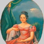 Портрет гр. А.Ф. Закревской. 1810-е гг. Неизвестный художник