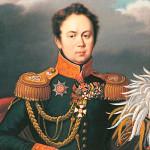 Портрет гр. А.А. Закревского. 1820 г. И. Сергиев (И. Сергеев?)