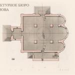 Троице-Сергиева лавра, Троицкий собор, план