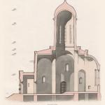 Троице-Сергиева лавра, Троицкий собор, разрез