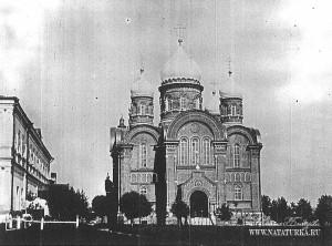Крестовоздвиженский Иерусалимский монастырь в Лукино