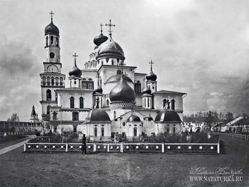 Воскресенский собор Ново-Иерусалимского монастыря, общий вид с востока