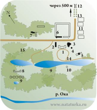 План усадьбы Авчурино