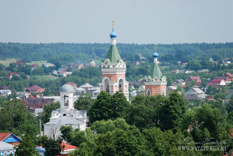 Вид на бывший Иакиманский монастырь