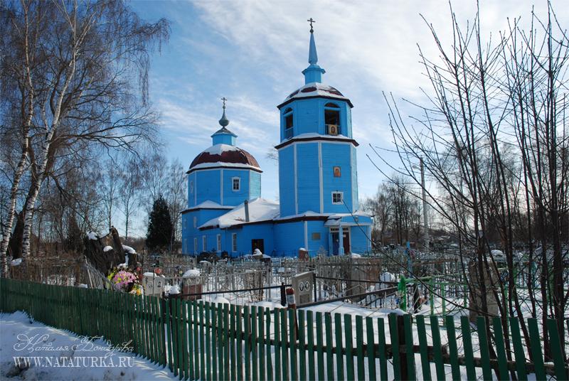 Сушково. Казанская церковь