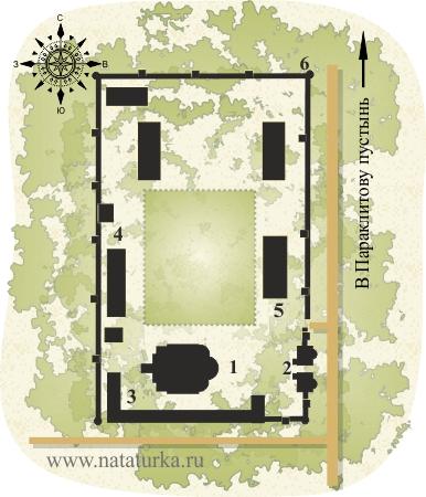 Черниговско-Гефсиманский скит (Пещеры Гефсиманского скита)