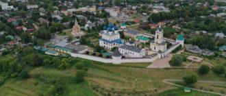 Серпухов. Высоцкий монастырь