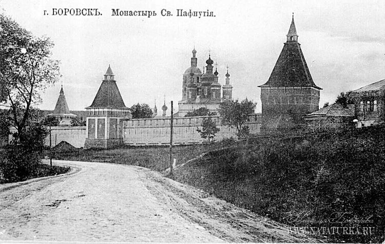 Боровский монастырь схема проезда 320