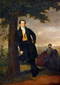Портрет Андрея Ивановича Барышникова, Тропинин В.А., 1829