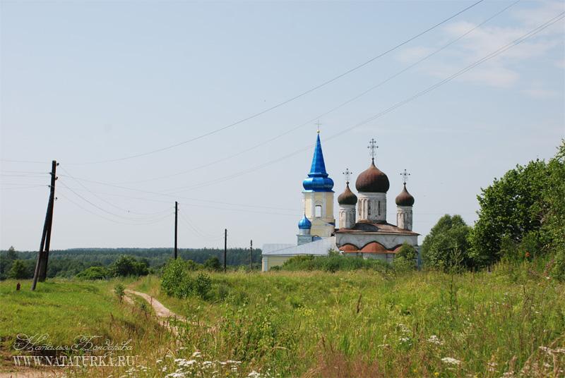 Успенский собор бывшего Иванишского монастыря