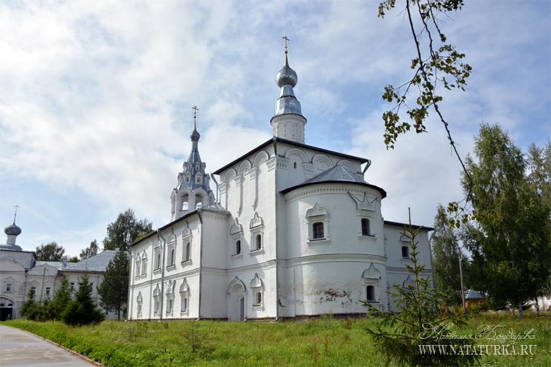 Николо-Улейминский монастырь близ Углича