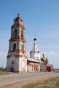 Никольская церковь в Елизарово