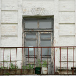 Усадьба Михайловское (Торопецкий район, Тверская область). Фрагмент паркового фасада дворца