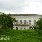 Усадьба Михайловское (Торопецкий район, Тверская область). Главный дом со стороны озера