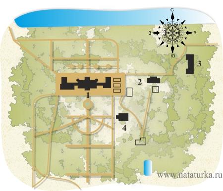 План усадьбы Васькино