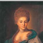 Портрет Е.П. Глебовой-Стрешневой. Неизвестный художник