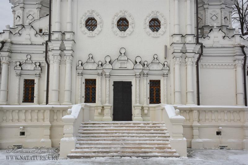 Троицкая церковь, южный фасад