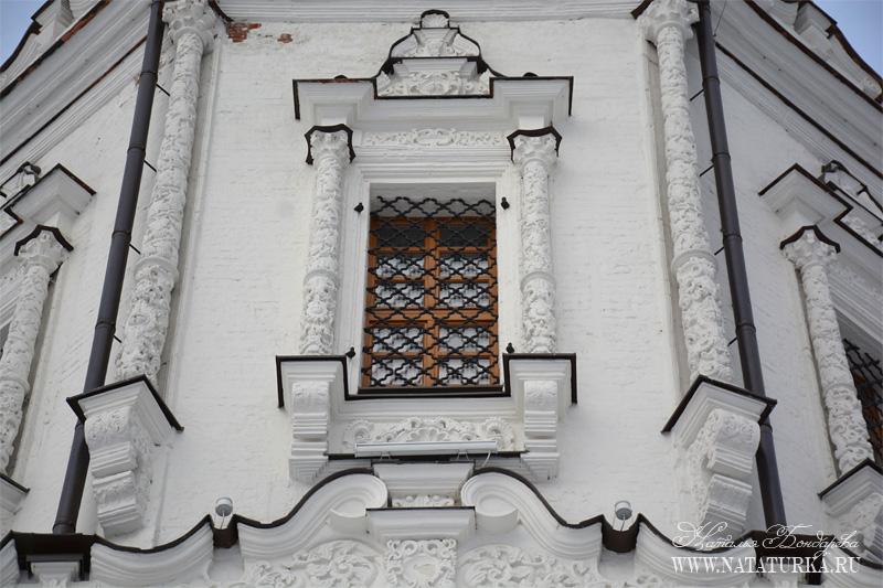 Троицкая церковь, южный фасад (фрагмент восьмерика)
