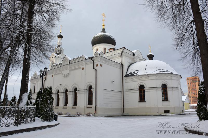 Церковь Успения Пресвятой Богородицы в усадьбе Троицкое-Лыково