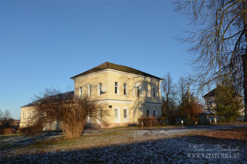 Усадьба Клементьево, дом начальника полигона