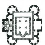 Золотые ворота во Владимире, план