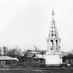 Бежецк колокольня Введенской церкви