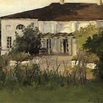 С.П. Кувшинникова. Дом в Курово-Покровском, 1891 г.
