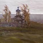 В.К. Бялыницкий-Бируля Церковь на берегу озера