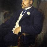 Витольд Каэтанович Бялыницкий-Бируля, художник А.В. Моравов
