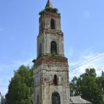 Чистая Дубрава. Колокольня церкви Покрова